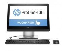 HP ProOne 400 G2 (T8V60PA) (Intel Core i3-6100 3.70GHz, RAM 4GB, HDD 1TB, VGA Intel HD Graphics, 20-inch Led Non Touch, Free Dos)