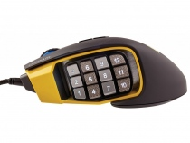 Chuột game Scimitar PRO RGB Optical MOBA/MMO CH-9304011-NA (yellow)