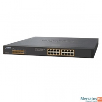 Planet FNSW-1600P 16-Port 10/100Mbps PoE Fast Ethernet Switch